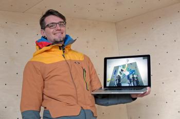 Jano Tenev ist Betreiber der Felshelden-Boulderhalle in Warnemünde. Er rechnet damit, ab Mitte Mai seine ersten Gäste begrüßen zu können.