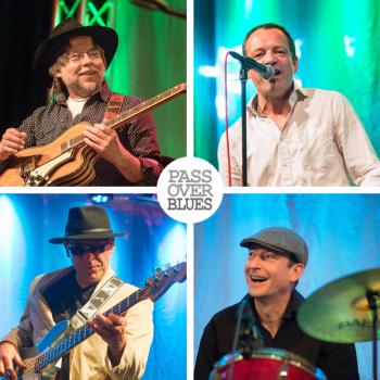 Die Pass over Blues Band lädt am 28. Dezember zum Nach-Feiertags-Blues ins Ringelnatz Warnemünde.