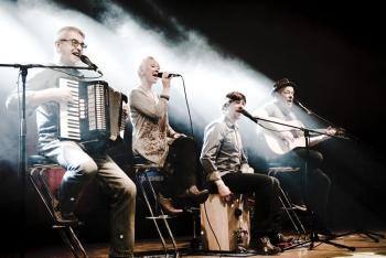 Rockt am Freitagabend das Ringelnatz Warnemünde: die Band Godewind.