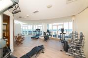 Fitnessbereich im Strand-Hotel Hübner
