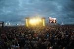 Der Warnemünder Strand wird zum Festivalgelände. Foto: Marco Maas