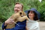 Fanny und Cosima – auf diese Namen taufte Dirigent Peter Leonard den Trampeltier-Nachwuchs gemeinsam mit Zoo-Direktor Udo Nagel.