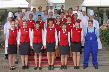 Am Dienstag startete im Hotel Neptun für 29 Azubis ein neuer Lebensabschnitt.