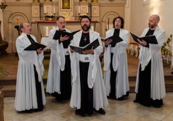 Das Angelicus Ensemble aus Sofia singt am Sonnabend in der Warnemünder Kirche.