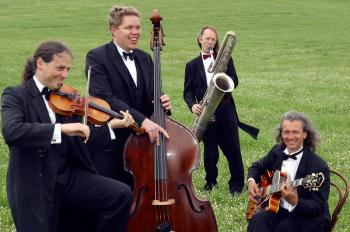 """Das Quartett """"Die Herren"""" ist am Sonnabend zu Gast im Ringelnatz Warnemünde."""