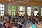 Die Klassenstufen 5 und 6 des ecolea Gymnasiums Warnemünde laden zum Sommerkonzert.