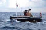 """Der dänische Schlepper """"Nakskov Havn 1"""" ist das 200. Teilnehmerschiff der Hanse Sail 2014.  Foto: Archiv Nakskov Havn 1"""