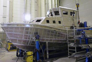 Schnittig: SRB 69 ist wie alle Einheiten der Seenotretter äußerst seetüchtig. Selbst in Grundsee und Brandung besitzt dieser Schiffstyp gute See-Eigenschaften, manövriert einwandfrei und übersteht auch heftige Grundstöße.