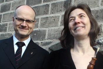 Karla Schröter und Willi Kronenberg gestalten das Warnemünder Kirchenkonzert am Sonnabend.