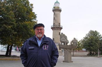 """Leuchtturmchef Klaus Möller: """"Wir sprechen in diesem Jahr von einer Leuchtturmsaison, die keine war."""""""