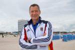 Ralph Masella kennt und schätzt die optimalen Bedingungen für sein Team in Warnemünde.