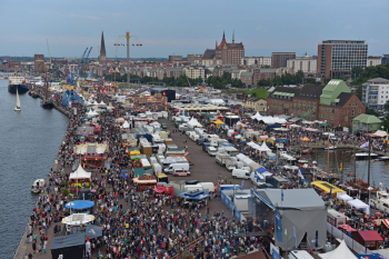Vom 10. bis 13. August wird in Rostock und Warnemünde die 27. Hanse Sail gefeiert. Es kommt zu vielen Verkehrseinschränkungen.