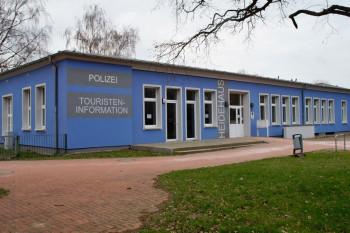 Das Heidehaus Markgrafenheide - hier befindet sich während der Sommermonate die Tourist-Information