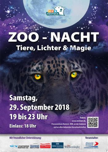 Ticketverlosung Zoo-Nacht 2018